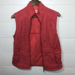 Lucy Dark Tangerine Vest